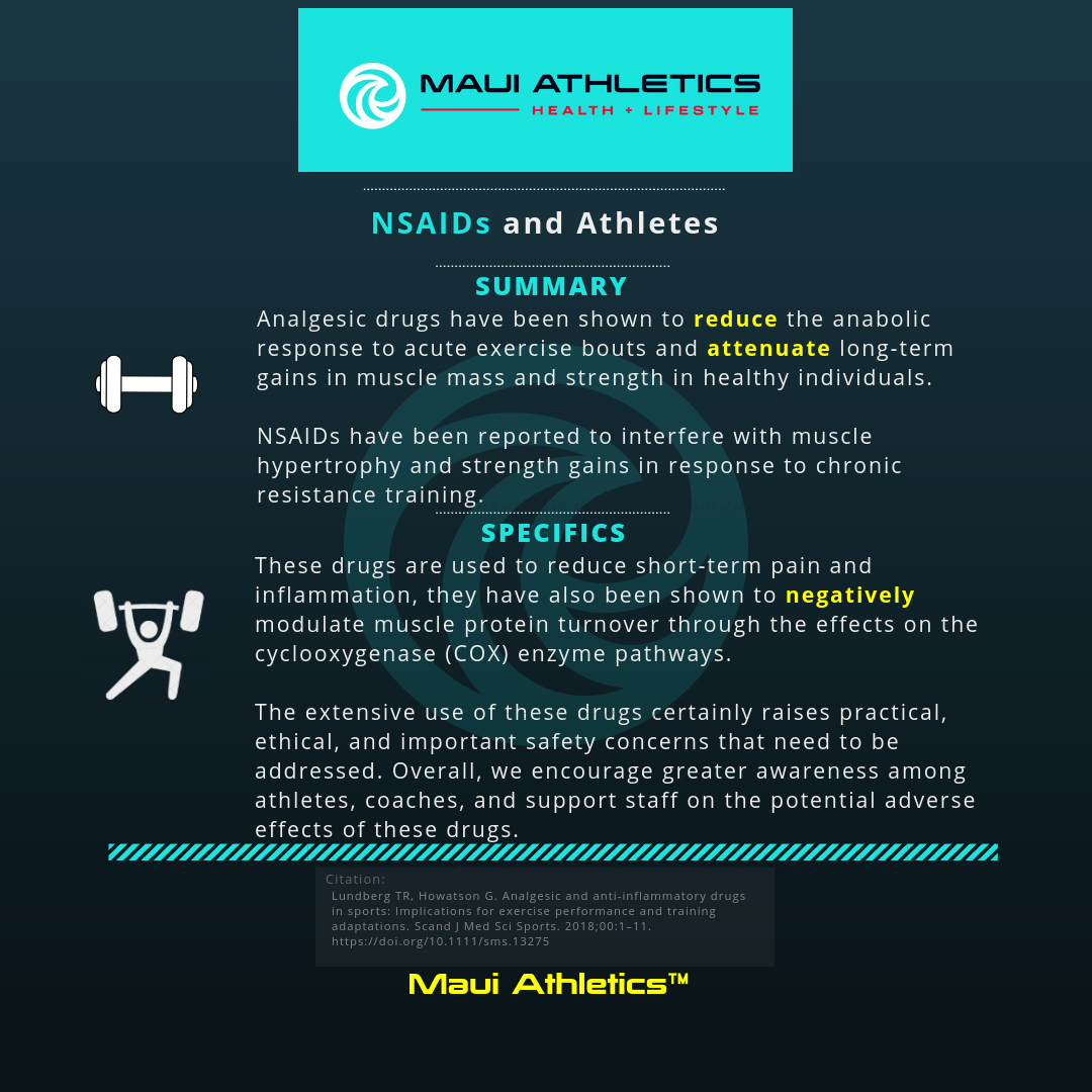 NSAIDs: Athletes and Exercise