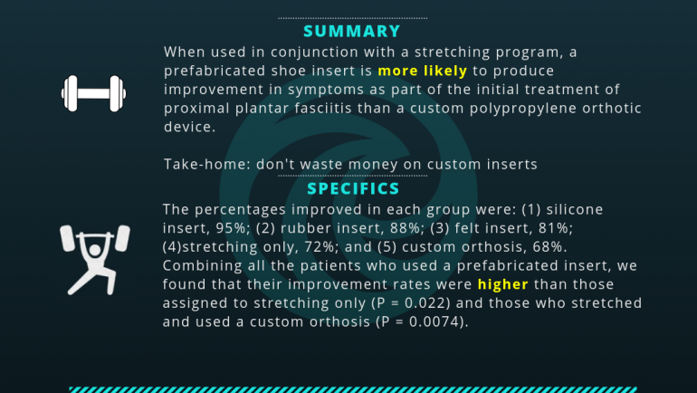 Custom vs Prefabricated Shoe Orthotics