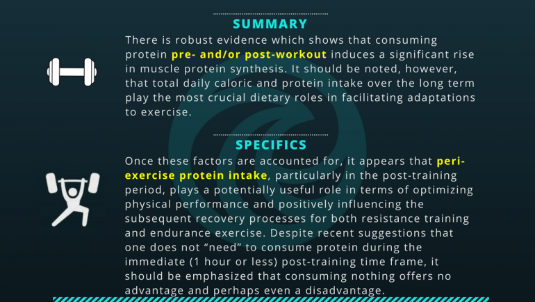 Peri-Workout Protein Intake