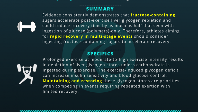 Dietary Sugars and Multi-Stage Exercise