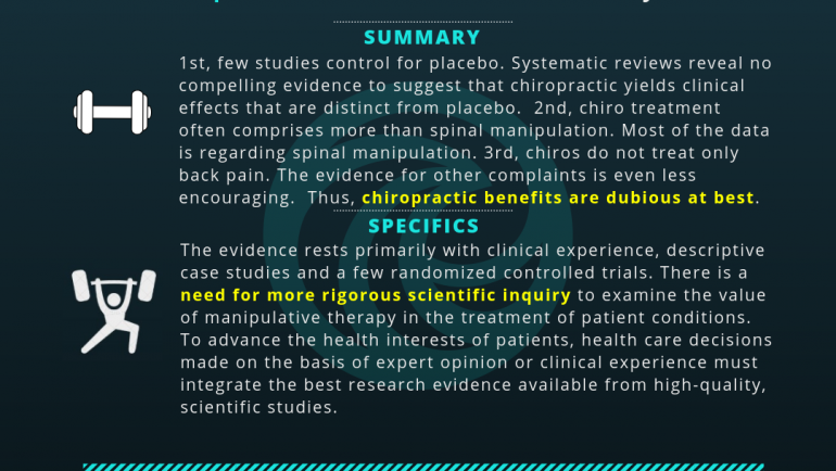 Chiropractic Care: A Systemic Review