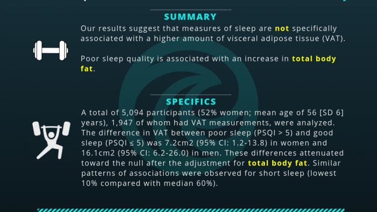 Sleep and Overall Body Fat