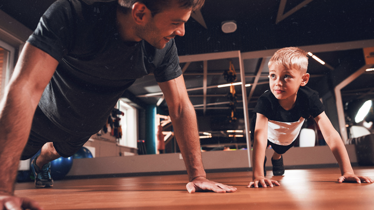 Your Kids and Weightlifting