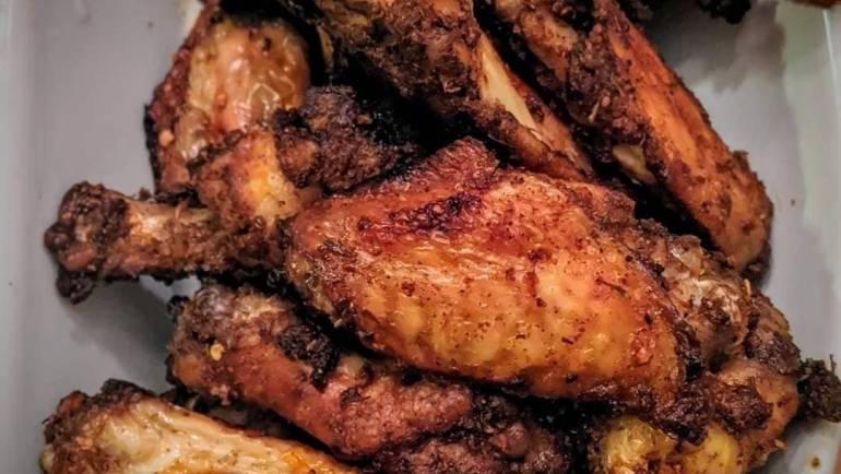 Air-Fried Chicken Wings